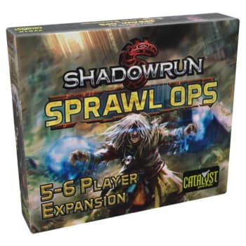 Shadowrun: Sprawl Ops - 5-6 Player Expansion