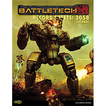 BattleTech: Record Sheets: 3058 Upgrade