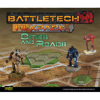 BattleTech: HexPack: Cities and Roads