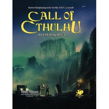 Call of Cthulhu: Keeper's Screen Pack 7th Edition