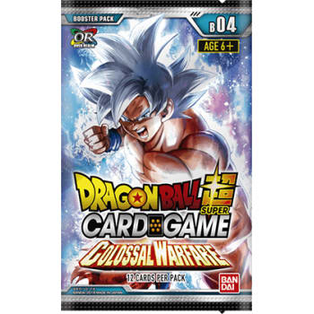 Dragon Ball Super TCG - Colossal Warfare - Booster Pack