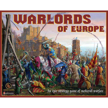 Warlords of Europe Board Game