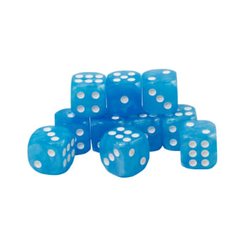 CoolStuffInc.com Essentials - 10x D6 (Blue)