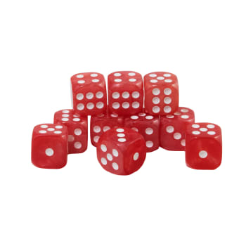 CoolStuffInc.com Essentials - 10x D6 (Red)