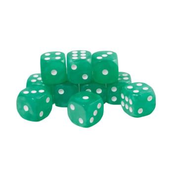 CoolStuffInc.com Essentials - 10x D6 (Green)