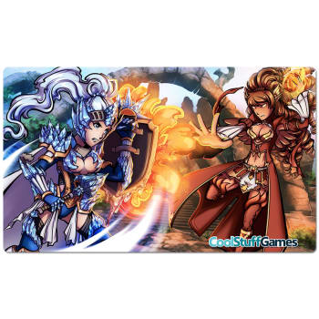 Cool Stuff Games Red/Blue Fantasy Play Mat