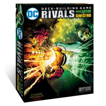 DC Comics DeckBuilding Game: RIVALS Green Lantern Vs Sinestro
