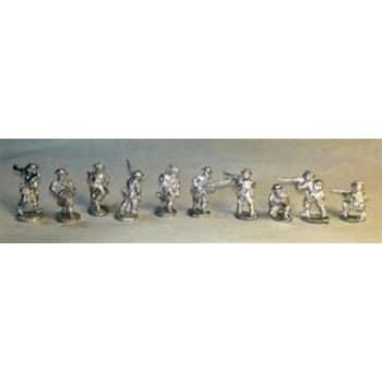 Warfighter WWII Expansion 15: UK Metal Solider Miniatures
