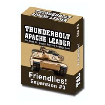 Thunderbolt Apache Leader: Expansion 3 - Friendlies