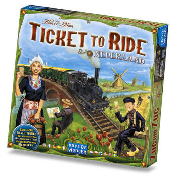 Ticket to Ride: Nederland Expansion Map Collection 4