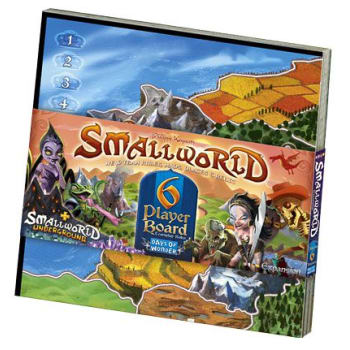 Small World: 6-Player Map Expansion