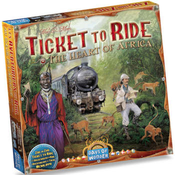 Ticket To Ride: The Heart of Africa Expansion - Map Collection Volume 3