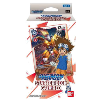 Digimon TCG - Starter Deck - Gaia Red