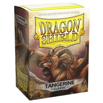 Dragon Shield Sleeves: Classic Tangerine (100)