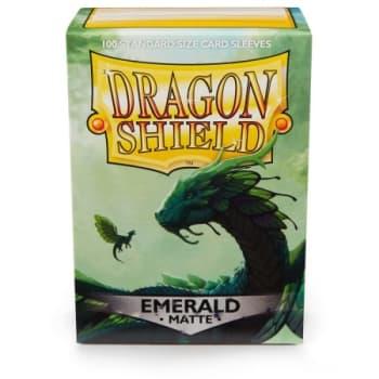 Dragon Shield Sleeves: Matte Emerald (100)