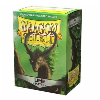Dragon Shield Sleeves: Matte - Lime (100)