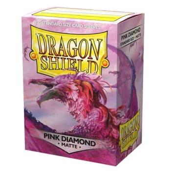 Dragon Shield Sleeves: Matte Pink Diamond (100)