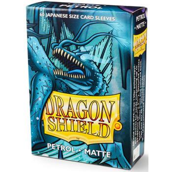 Dragon Shield Sleeves: Japanese Matte Petrol (60)