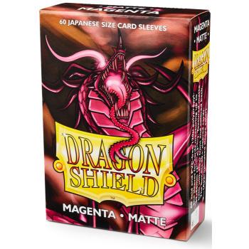 Dragon Shield Sleeves: Japanese Matte Magenta (60)