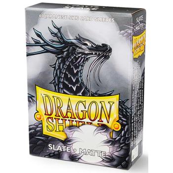 Dragon Shield Sleeves: Japanese Matte Slate (60)
