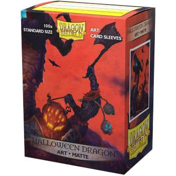 Dragon Shield Sleeves: Matte Art - Halloween Dragon (100)