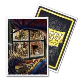 Dragon Shield Sleeves: Classic Art - Christmas Dragon (100)