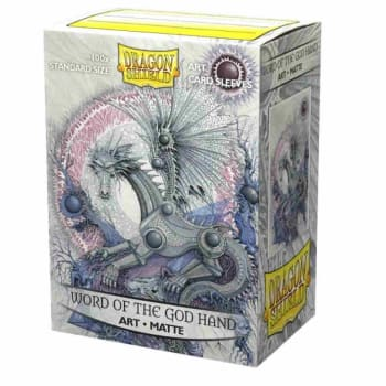 Dragon Shield Sleeves: Matte Art - Word of the God Hand (100)