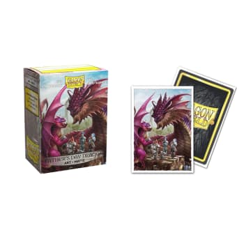 Dragon Shield Sleeves: Matte Art - 2020 Father's Day (100)