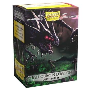 Dragon Shield Sleeves: Matte Art - 2020 Halloween Dragon (100)