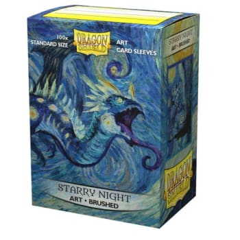 Dragon Shield Sleeves: Brushed Art - Starry Night (100)