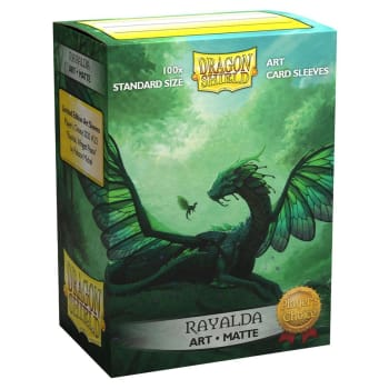 Dragon Shield Sleeves: Matte Art - Rayalda (100)