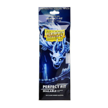 Dragon Shield: Japanese Perfect Fit Sealable - Clear (100)