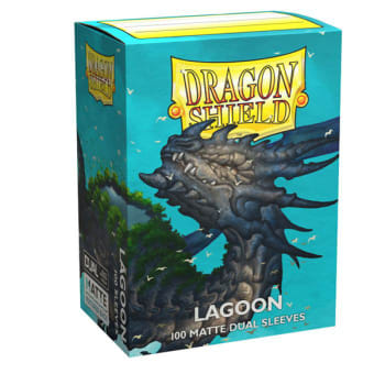 Dragon Shield Sleeves: Dual Matte - Lagoon (100)