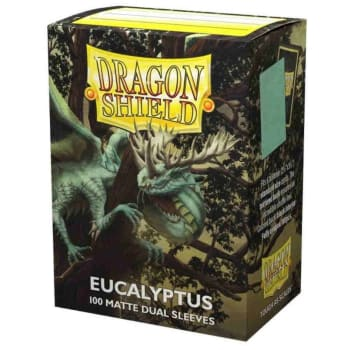 Dragon Shield Sleeves: Dual Matte - Eucalyptus (100)