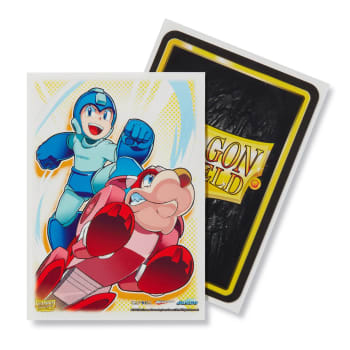 Dragon Shield Sleeves: Classic Art - Mega Man & Rush (100)