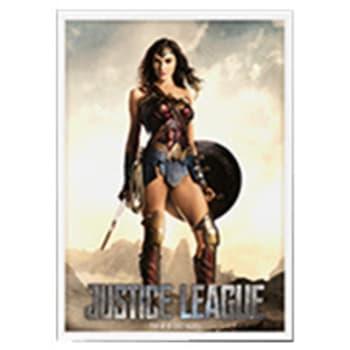 Dragon Shield Sleeves: Matte Art - Justice League: Wonder Woman (100)