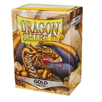 Dragon Shield Sleeves: Matte Gold (100)