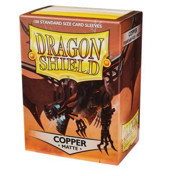 Dragon Shield Sleeves: Matte Copper (100)