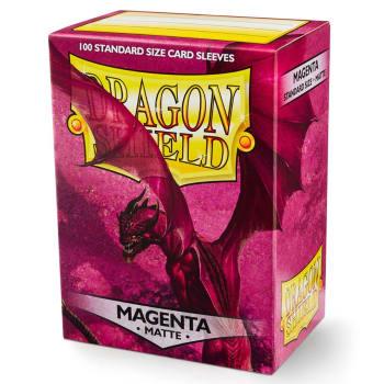 Dragon Shield Sleeves: Matte Magenta (100)
