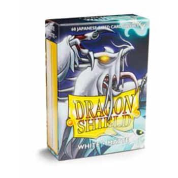 Dragon Shield Sleeves: Japanese Matte White (60)