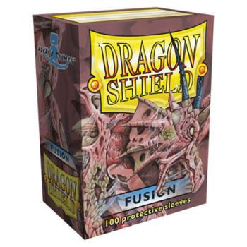 Fusion //// 100 Dragon Shield Deck Sleeves //// Standard Size MTG Pokemon NEW