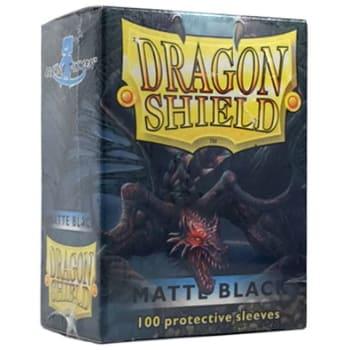 Dragon Shield Sleeves: Matte Black (100)