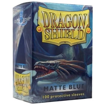 Dragon Shield Sleeves: Matte Blue (100)