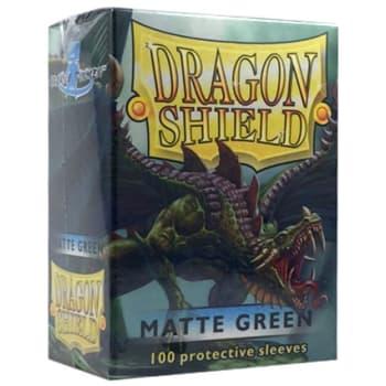 Dragon Shield Sleeves: Matte Green (100)