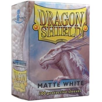 Dragon Shield Sleeves: Matte White (100)