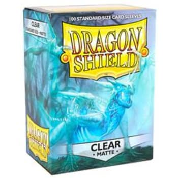 Dragon Shield Sleeves: Matte Clear (100)