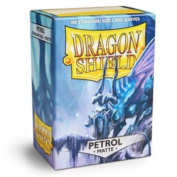Dragon Shield Sleeves: Matte Petrol (100)
