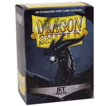 Dragon Shield Sleeves: Matte Jet (100)