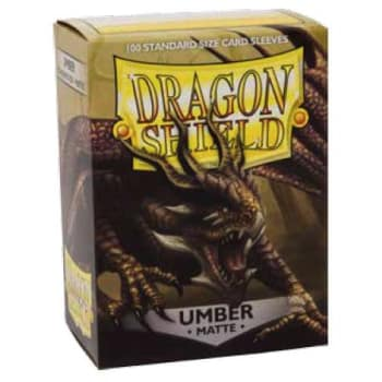 Dragon Shield Sleeves: Matte Umber (100)