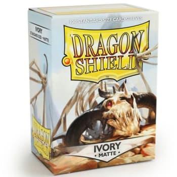 Dragon Shield Sleeves: Matte Ivory (100)